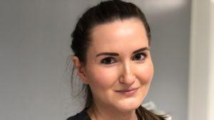 Kristel Strandén driver en skönhetssalong i Helsingfors