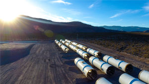 Hyperloop-test i Nevada.