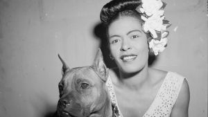 Billie Holiday. Kuva samannimisestä tv-dokumentista.