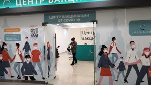 Coronavaccinering i Ryssland.