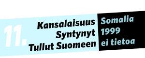 Kansalaisuus: Somalia, syntynyt: 1999, tullut Suomeen: ei tietoa.