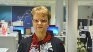 Skuldrådgivare Ann-Christine Levlin i Vasa