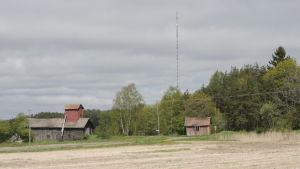 Radio- och tv-masten i Kustö