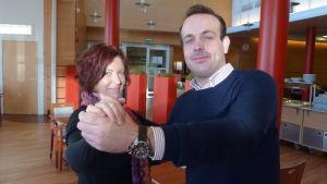 Jessica Havulehto och Victor Ohlis