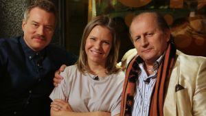 Mårten Svartström, Sonja Kailassaari och Juhani Tamminen.