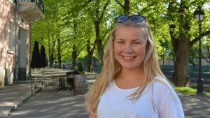 Ronja Hilli från Åbo stads fritidssektor