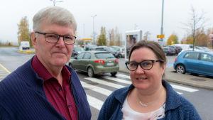 Kim Svenskberg och Ann-Mari Koivula.