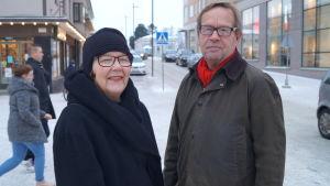 Sverker Staffans och Nikull.