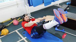 Andreas Romar rehabiliterar 17.3.2016.