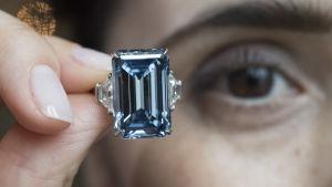 Diamanten Oppenheimer Blue.