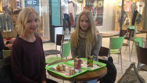 Ina Pajunen och Anette Sågfors