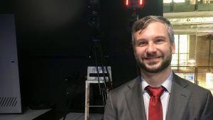 Greg Corrado är en av Googles främsta experter på artificiell intelligens