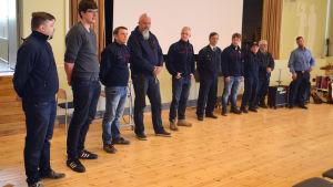 FBK i Sibbo presenterade sig i värvningskampanj i Nickby 18.05.17