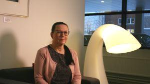 0100100 -palvelun liiketoimintajohtaja Pirjo Haaga, Sentraali Oy.