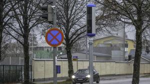 Trafikövervakningskamera i Borgå