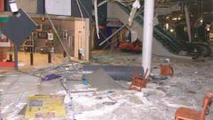 Myyrmanni efter bombdådet 2002
