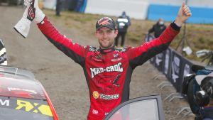 Niclas Grönholm vann deltävlingen i Kouvola i slutet av augusti.