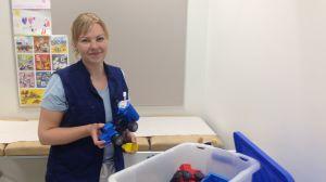 Hälsovårdare Heidi Tast.