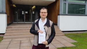 Forskaren Hannu Lahtinen.