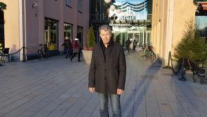 Sannfinländarnas Aimo Ollikainen i S:t Michel.