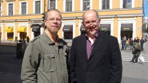 Mats Lillhannus och Nalle Öhman
