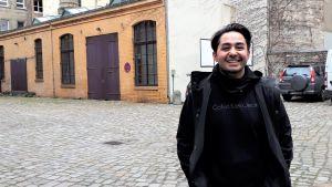 Sherwan Haji under Berlinale Talents, 2020.