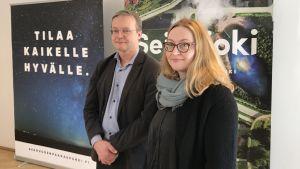 Erkki Välimäki och Arja Lassila vid Seinäjoki stad menar att det viktigaste är att man jobbar aktivt och mångsidigt med att förebygga övervikt bland barn och unga.