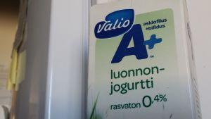 Valion jogurtti A+ luonnonjogurtti