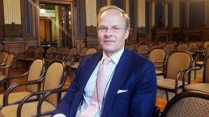 Claus Lindroos, chef för humanitärt bistånd på UM.