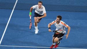 Heni Kontinen och John Peers spelar i Grand Slamfinal på lördag.