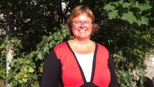 Anu Kari är fritidsbåtfarare från Karis.