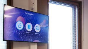 Smart TV för barn på ny barn sjukhuset