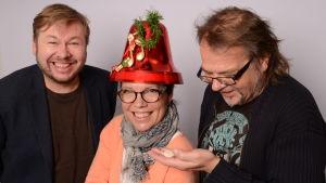 Juha Hostikka, Miia Krause ja Kalevi Pollari