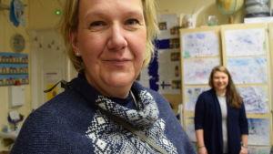 Heidi Mangström och Helena Träskman