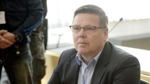 Jari Aarnio i rätten den 19 maj 2015.