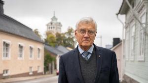 Karl von Smitten i Gamla stan i Ekenäs.