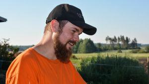 Lantbrukaren Kristoffer Nilsson
