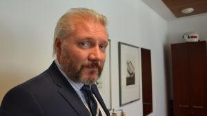 Åbo stads biträdande stadsdirektör Jarkko Virtanen hösten 2015
