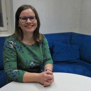 Forskaren och historikern Elina Virtanen.