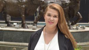 Gitta Hägg-Lundvall jobbar och bor i Hongkong