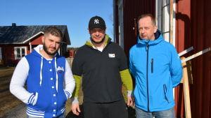 Amir, Tomislav Krstevski och Mats Nylen.