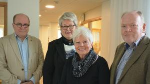 Bengt Ölander, Pia Kytö, Babbe Ölander, Patrik Limnell