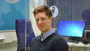 Historialärare Anders Fransén.