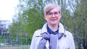 Sofia Lindqvist, sakkunnig vid Nyyti rf.