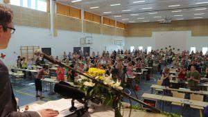 De grönas partikongress i Jämsä 2014