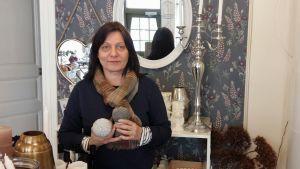 Tuija Nabb har varit delägare i en inredningsbutik de senaste 14 åren.