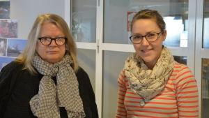 Susanna Simberg och Sofia Holmqvist besökte studion och pratade om röstvård