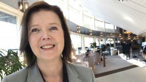 Porträttbild på Ewa Stenberg, DN:s politiska kommentator.