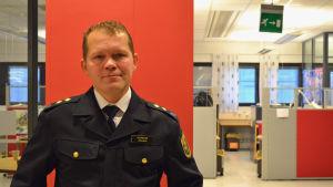 Brandmästare vid Helsingfors räddningsverk, Vesa Berg