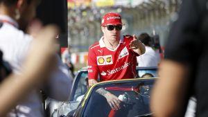 Kimi Räikkönen, 2017.